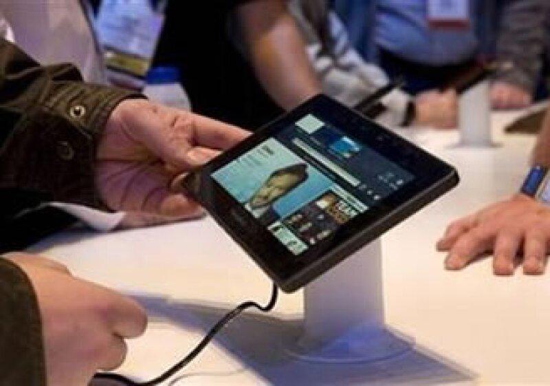 El lanzamiento de la Playbook se anunció por primera vez desde septiembre del 2010. (Foto: Reuters)