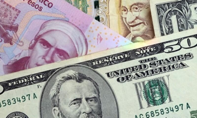 El peso ligó su carta sesión a la baja. (Foto: Getty Images)
