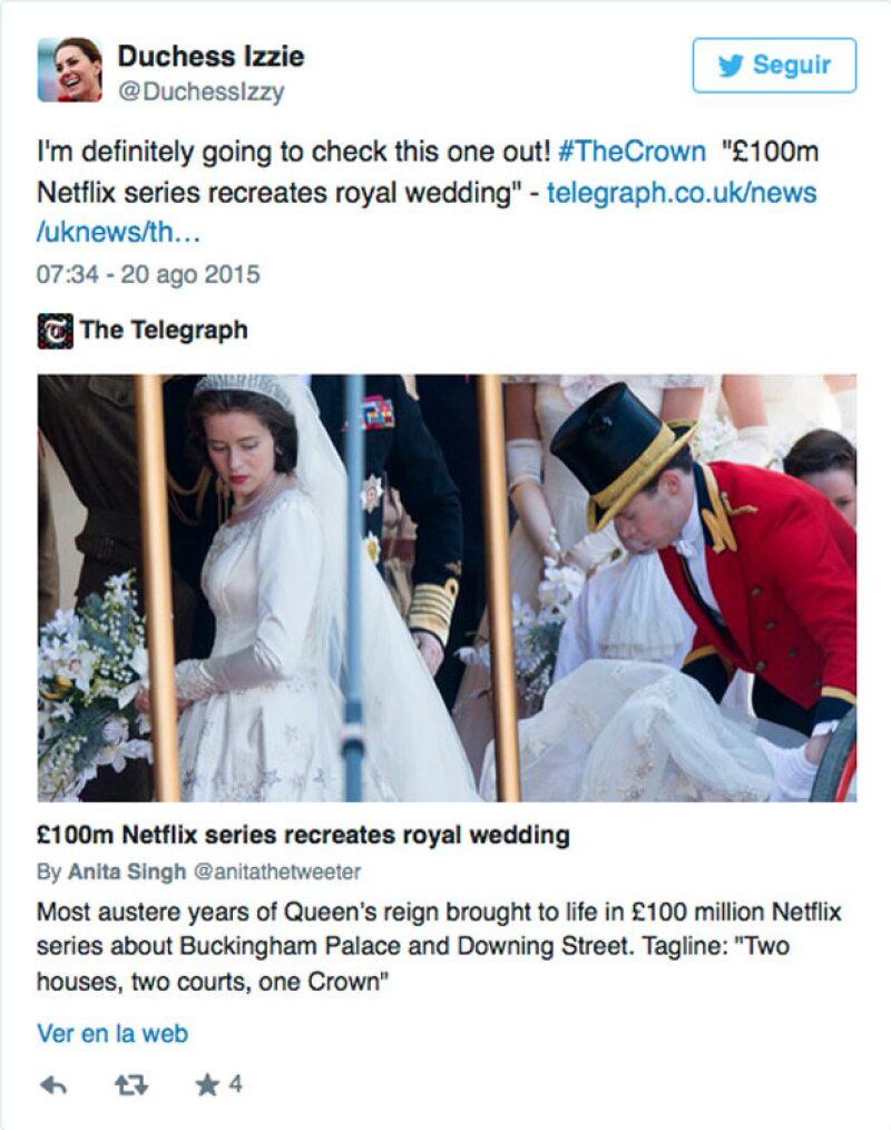 Un fanático se encargó de publicar y dar retweet a algunos comentarios en donde ya aparecen imágenes del filme desarrollado en Londres.