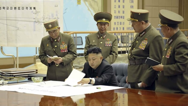 presidente, corea del norte, militar