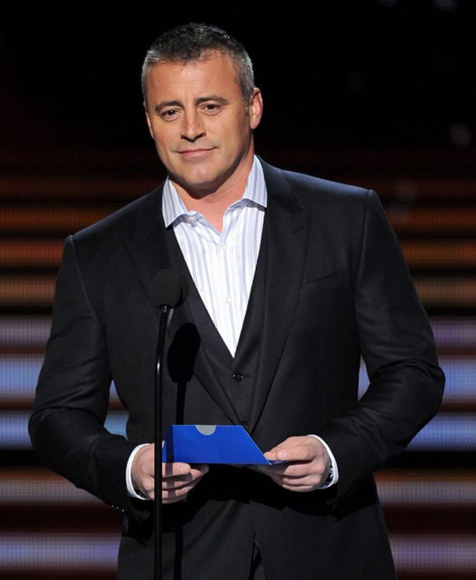 Matt LeBlanc ya debe estar acostumbrado a no ganar. Cuando estaba en Friends lo nominaron tres veces sin victoria y ahora en Episodes la trilogía continúa.