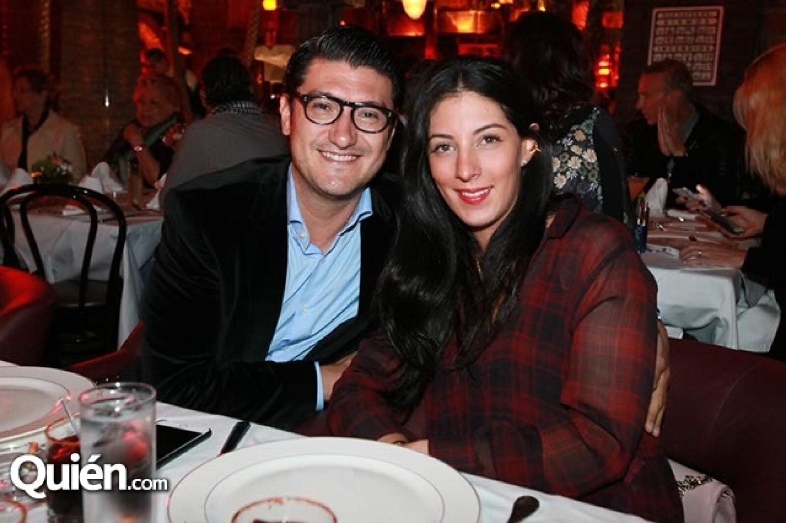 Mauricio Murillo y Lorena Murat
