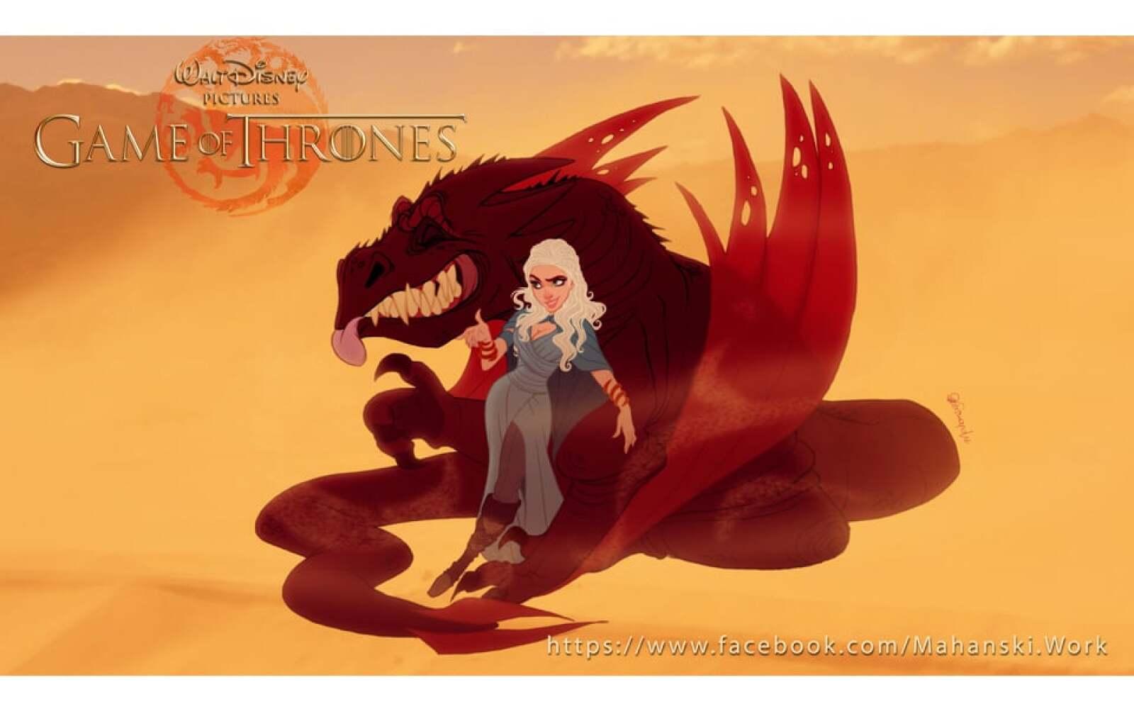 Daenerys-Drogon