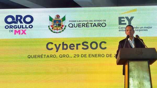 Nuevo centro de ciberseguridad en México.