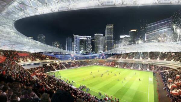 Estadio de Beckham, proyecto