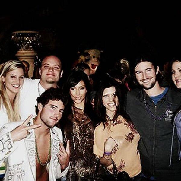 Tal parece que las Kardashian llevan una linda relación con esta parte de los Jenner desde hace tiempo.