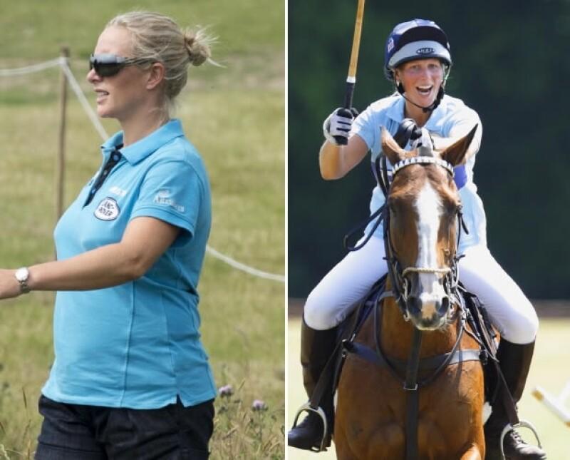 La nieta de la Reina no descuida su máxima pasión: la equitación.
