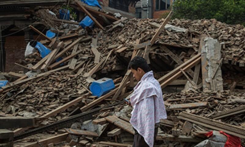 Un terremoto de 7.8 grados golpeó a Nepal el fin de semana pasado. (Foto: Reuters)