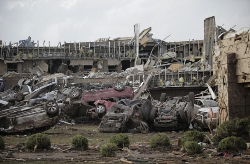 Oklahoma City fue declarada zona de desastre.