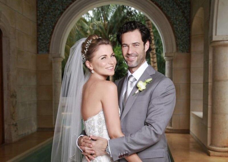 Quién tuvo la exclusiva de la boda de Ludwika Paleta y Emiliano Salinas.
