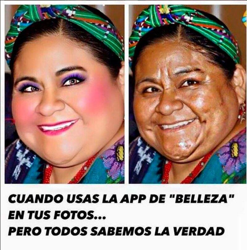 A través de la fundación de la Premio Nobel de la Paz, se ha pedido a Wendy González una disculpa, luego de usar su imagen en un meme sobre el abuso de los retoques y la edición de fotos.