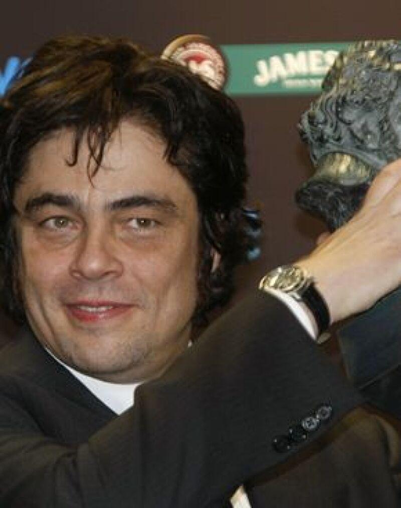 El actor agradeció el reconocimiento a su interpretación del guerrillero argentino en la XXIII ceremonia de los Premios Goya.