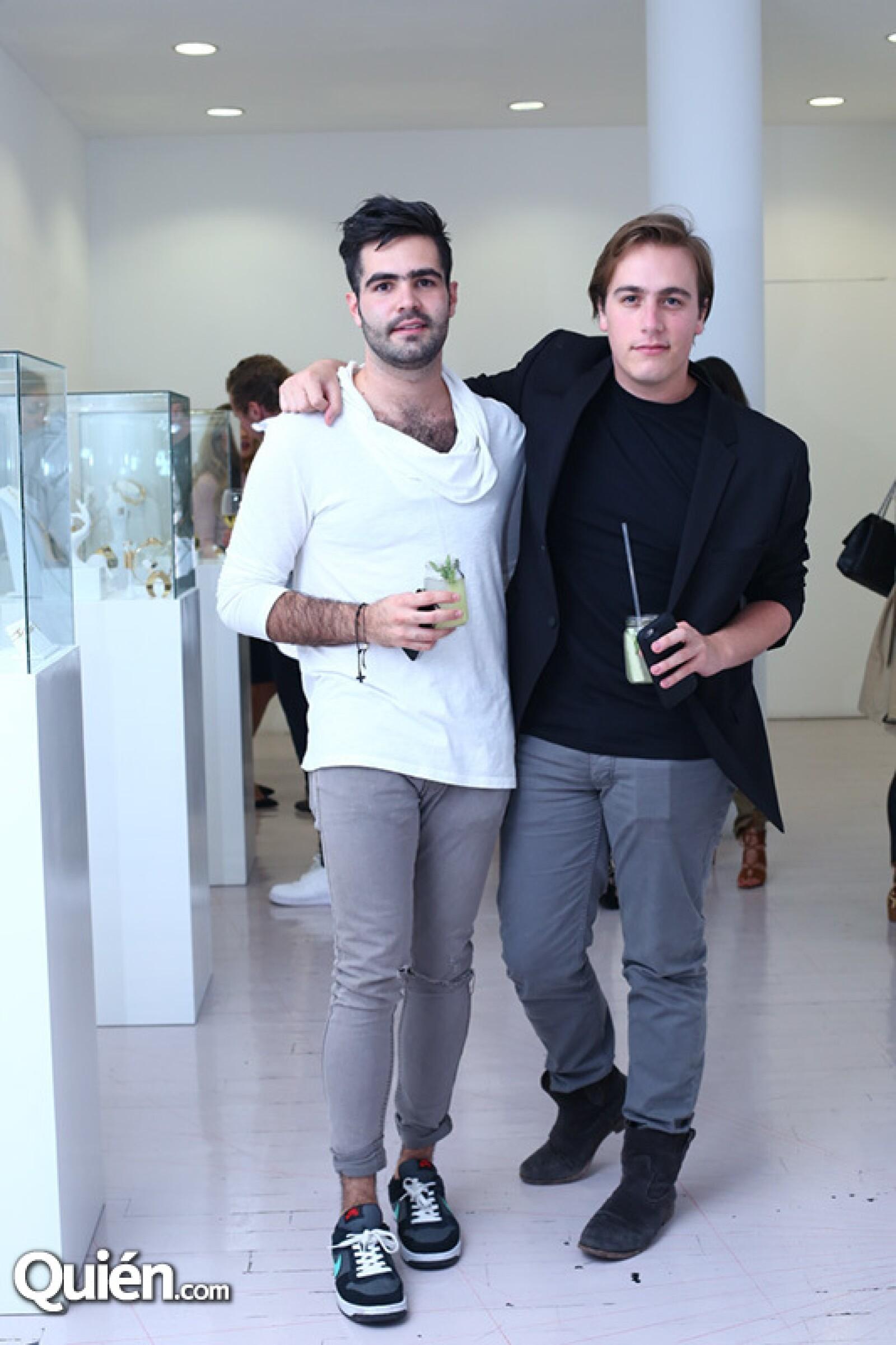 Juán Cabrera y Luis García Serrano