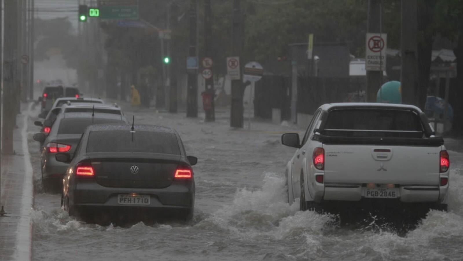 lluvia en Recife