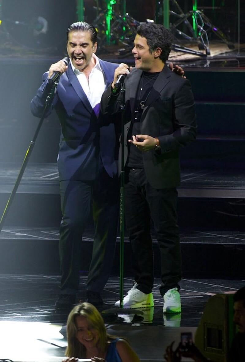 Sanz y Fernández son grandes amigos.