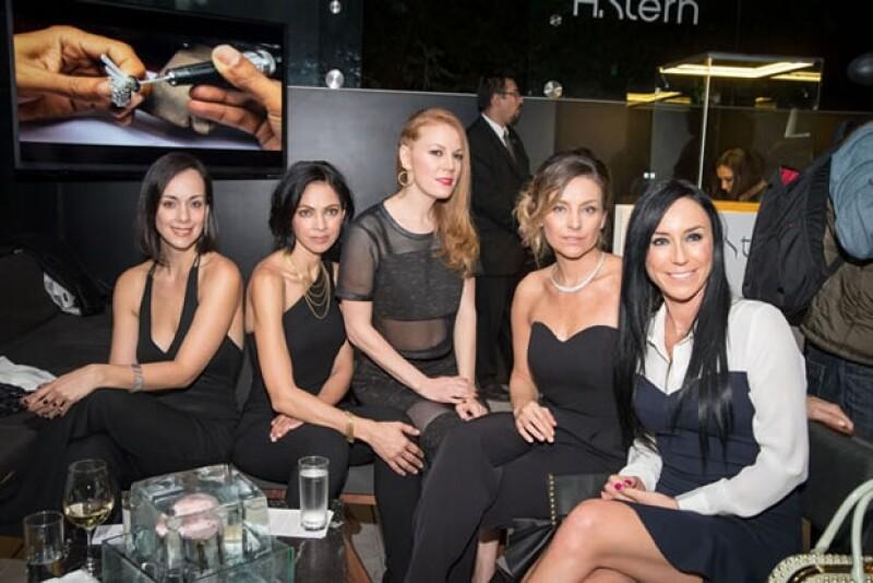 Gaby asistió la semana pasada la presentación de la nueva colección de joyería de H.Stern junto con otras famosas.