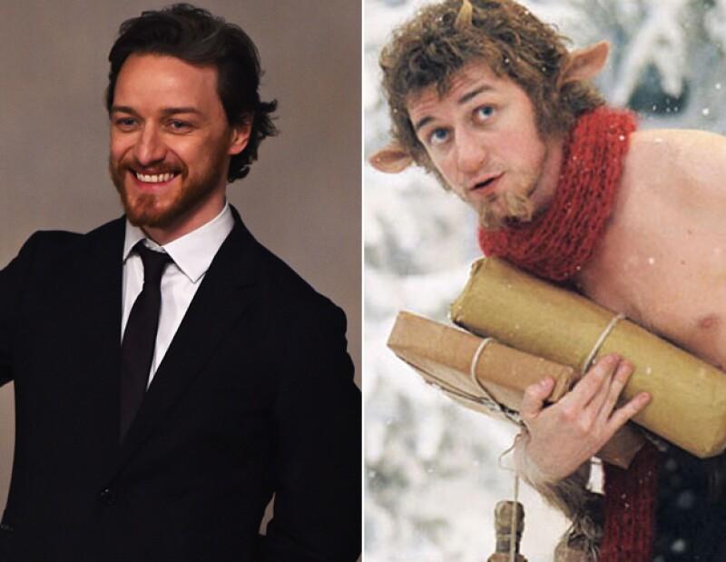 Cómo olvidar el papel de Mr Tumnus de James McAvoy en Narnia.