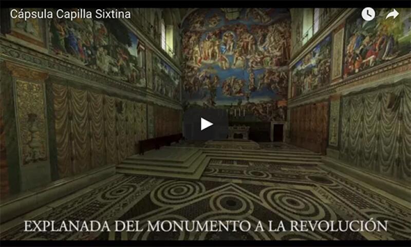 Después de dos años de trabajo, la réplica de La Capilla Sixtina llega a México. A partir de hoy podrás visitarla, ¡cónoce todos los detalles!