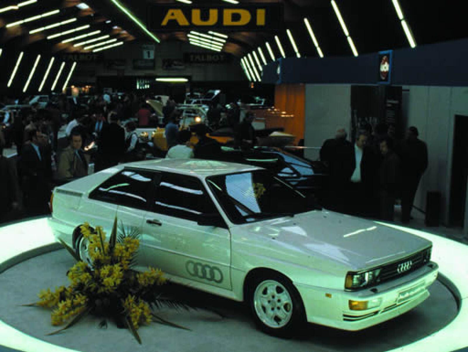 En 1980 se presentó el primer Audi Quattro en el Auto Show de Ginebra.