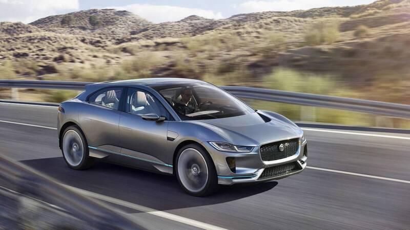 Jaguar presenta la I-PACE, su primer camioneta 4x4 eléctrica