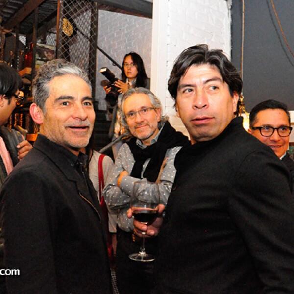Felipe Leal y Pepe Moayo