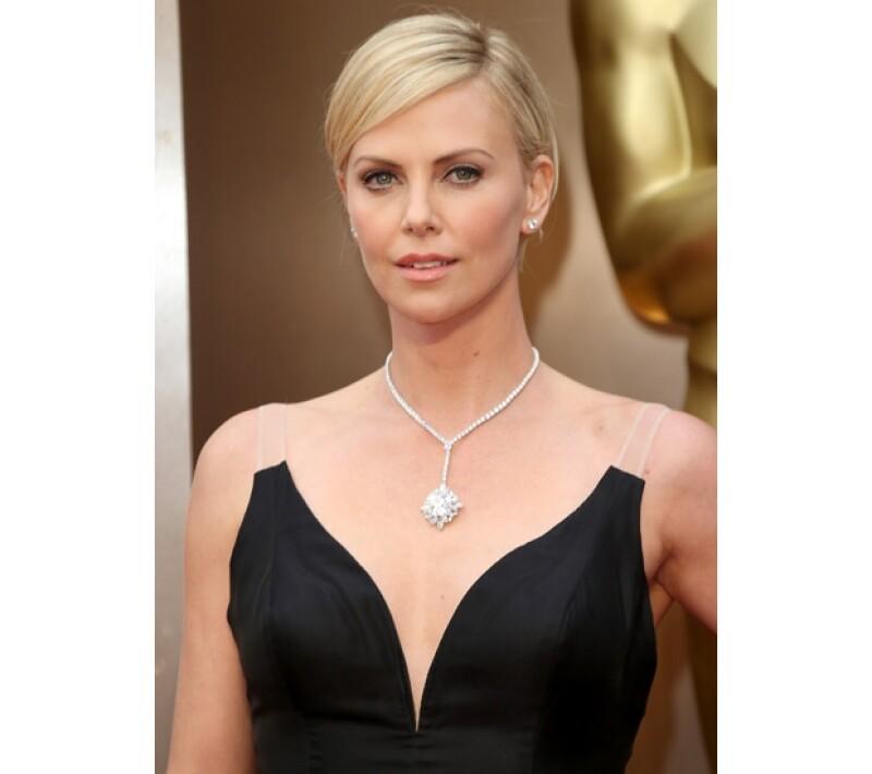 La guapa actriz sudafricana tiene un Oscar en su haber y una gran trayectoria en cine.