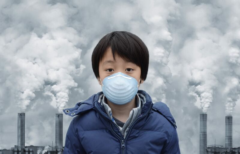 contaminación china