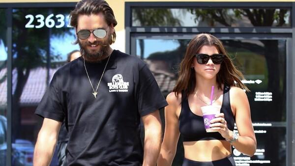 Sofia Richie y Scott Disick son vistos juntos de nuevo.