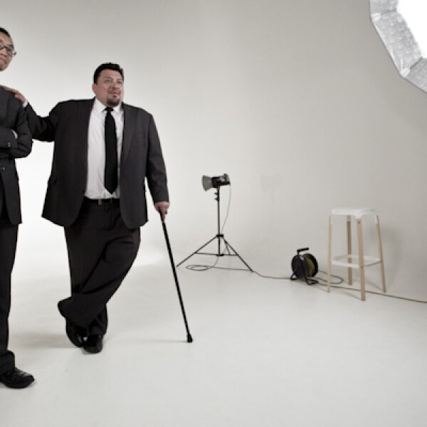 Grupo PTM PACS y Teleradiología de México, de Ulises Bacilio y Eric Takehir, compite en la categoría de más de tres años en Emprendedores 2014.
