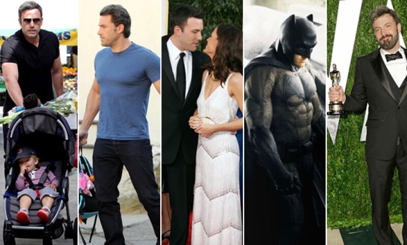 """El mundo del espectáculo aún sigue en shock por la noticia del divorcio del actor y Jennifer Garner. Aún así, creemos que el nuevo """"Batman"""" es un partidazo que luce mejor en pareja."""