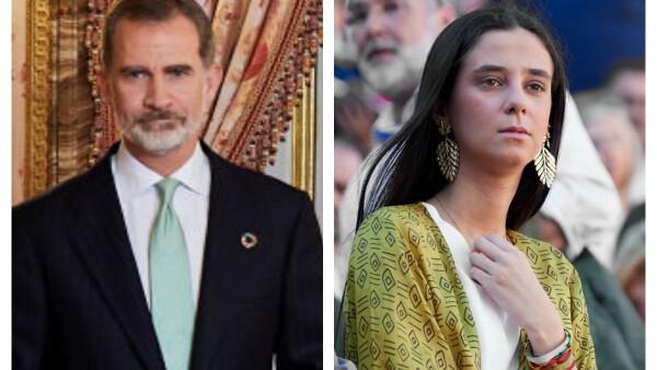Rey Felipe VI y Victoria Federica