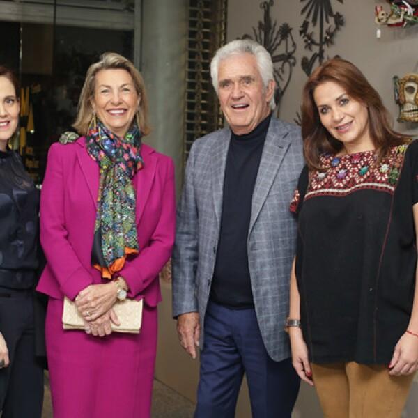 Marie Thérèse Arango,Carlos Herrera y María Ester Villar
