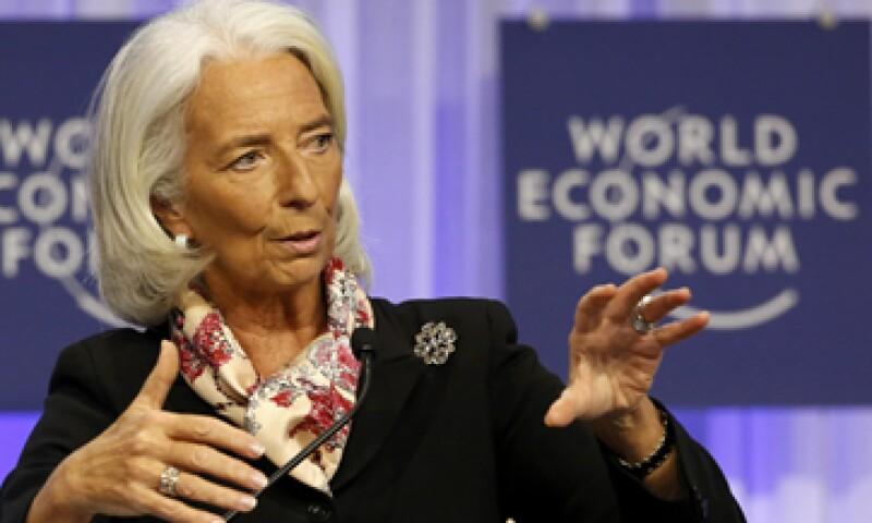 Lagarde recordó que en la zona del euro la inflación está por debajo de la meta del BCE. (Foto: Reuters)