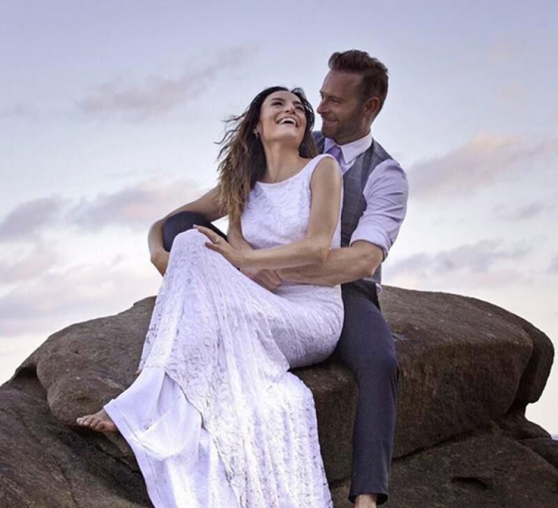 La pareja se casó el 5 de diciembre en Puerto Escondido, Oaxaca.
