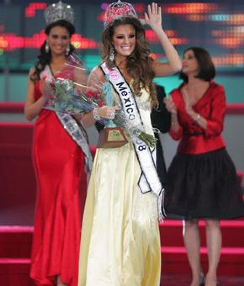 La nueva Miss México 2009 buscará mejorar la imagen de su país a nivel internacional.
