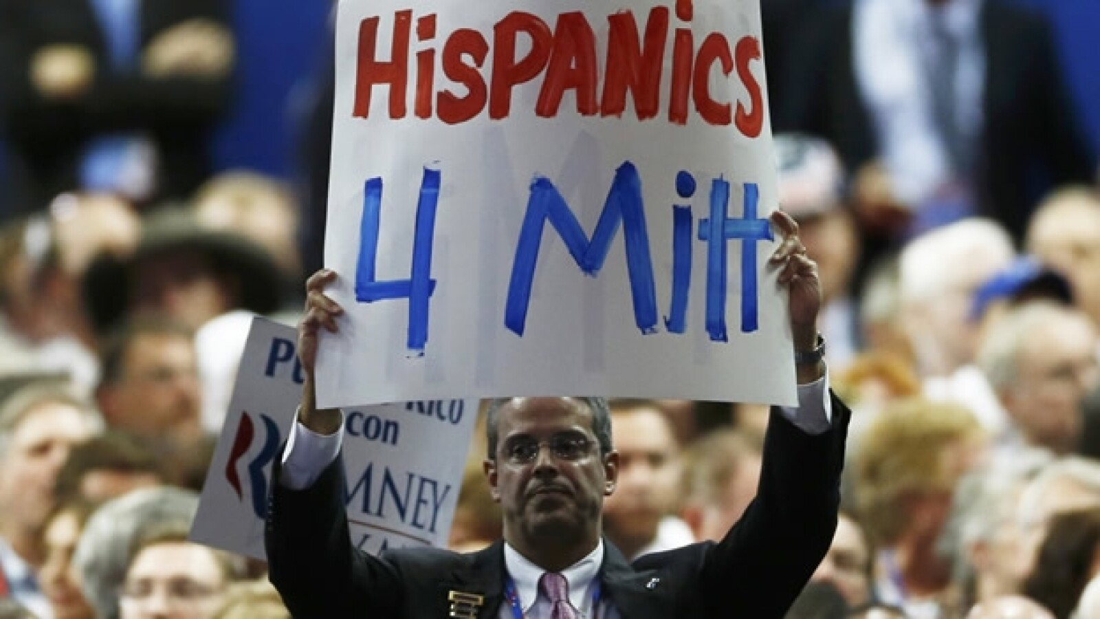hispanos, apoyo mitt romney, convencion republicana