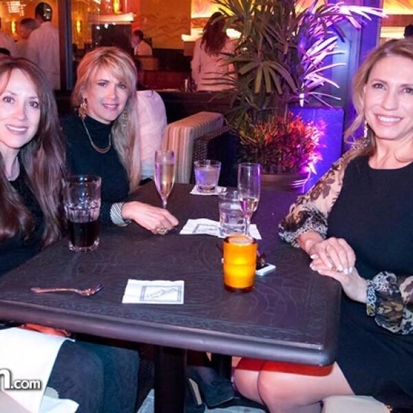 Pilar Lozada, Ana Paula Franco y Maribe Lancioni