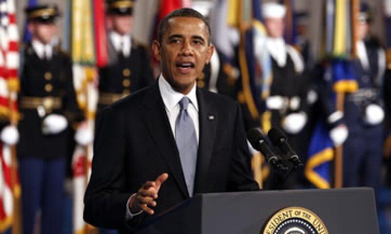 Obama hablará sobre los impuestos y los recortes presupuestales generalizados.  (Foto: Reuters)