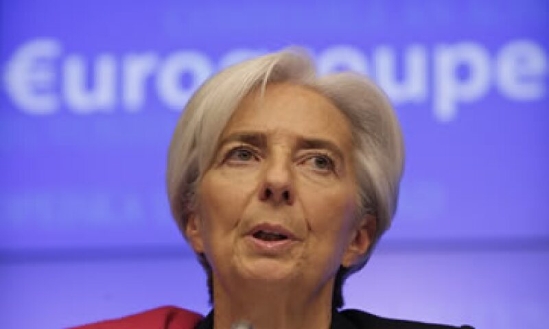 Christine Lagarde dijo que las economías avanzadas debían mantener su apoyo macroeconómico y una política fiscal balanceada. (Foto: AP)