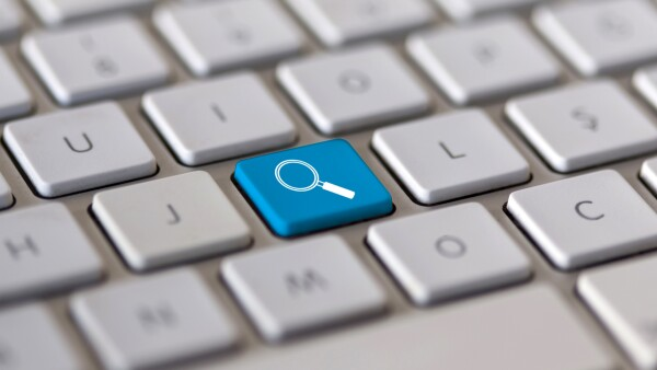 Search key on the keyboard