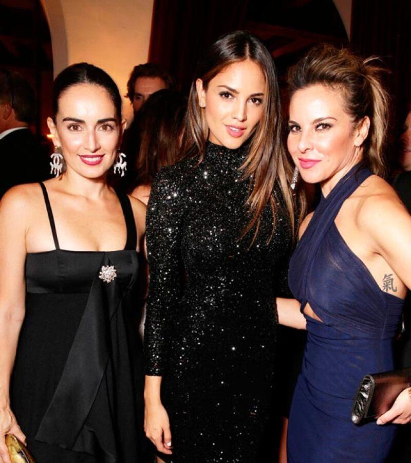 Ana, Eiza y Kate en el after party de los Emmy organizado por Netflix en septiembre de 2015.