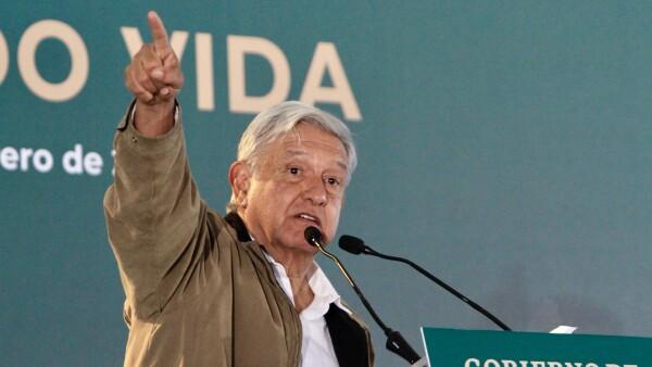 López Obrador presenta el programa Sembrando Vida
