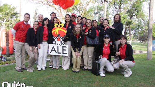 Organizadores del Torneo de Golf Copa Ale