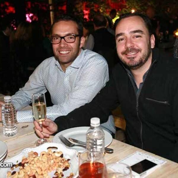 Guillermo Porras y Carlos Villegas