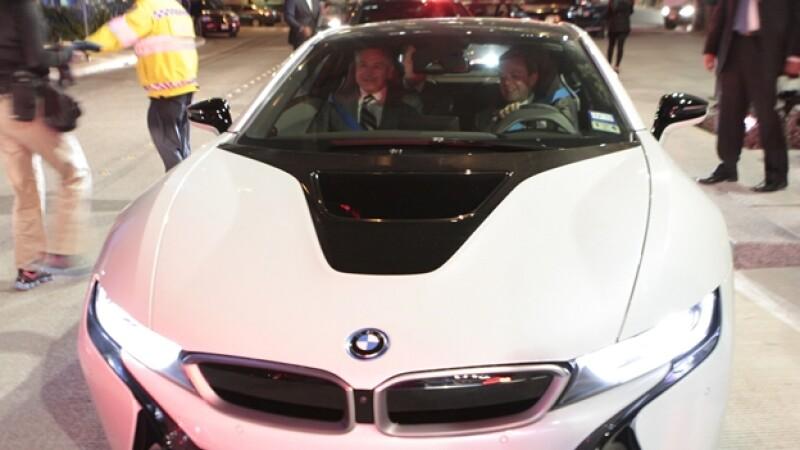 Raúl Salinas BMW i8