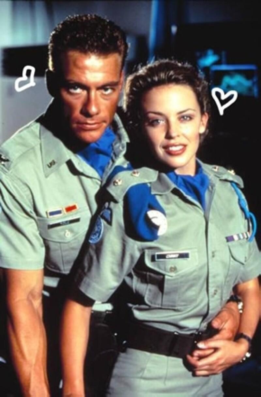 El actor aceptó durante una entrevista que él y la cantante tuvieron que ver cuando rodaron la cinta `Street Fighter´, que se estrenó en 1994.