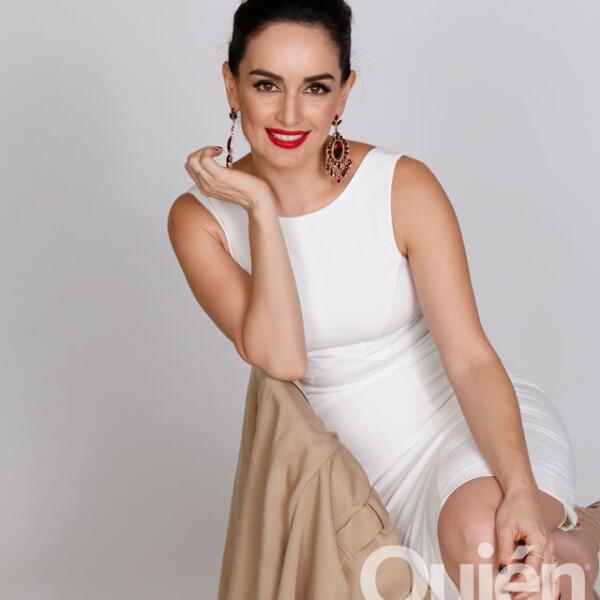 Ana de la Reguera, actriz. Se ha destacado por su labor altruista en Veracruz con su Fundación VeracruzAna.