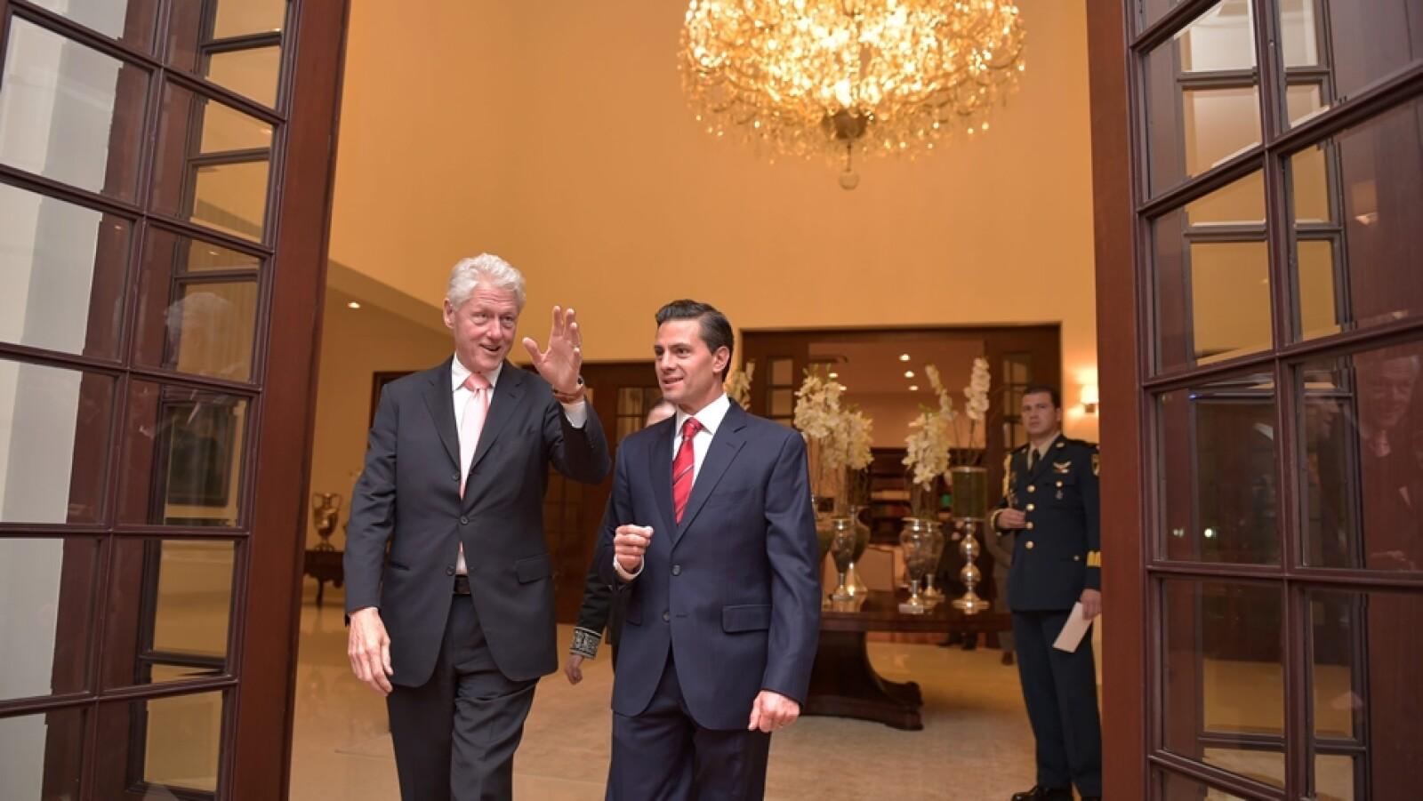 Clinton y Peña 2