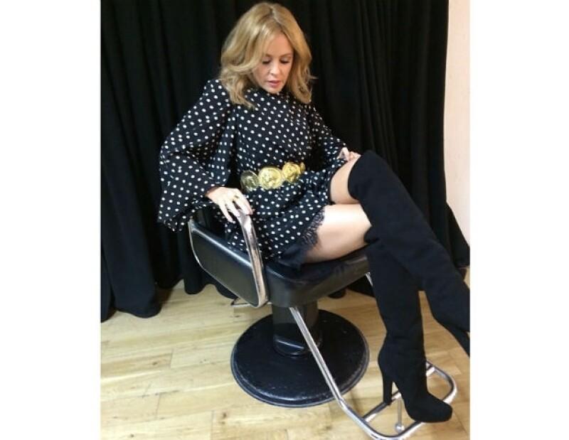 Kylie mantiene una buena amistad con el dúo de diseñadores Dolce & Gabbana.