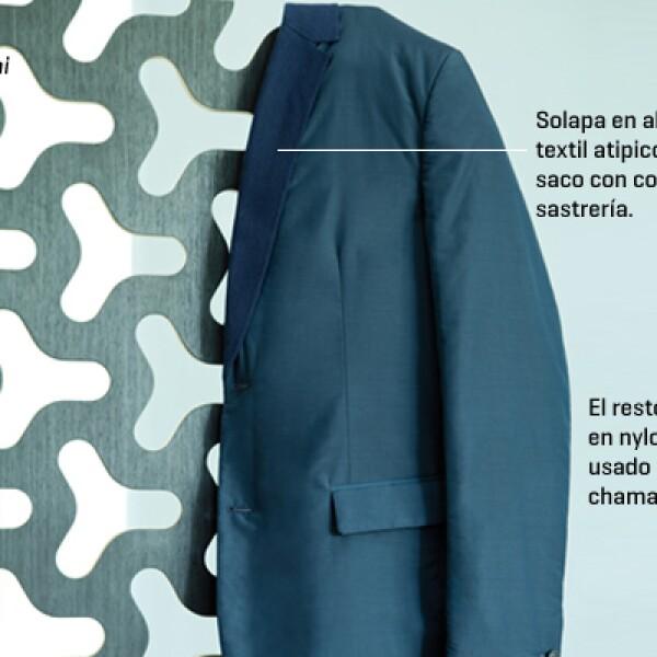 Una tendencia en ascenso son los abrigos con corte de sastrería y sacos en materiales no convencionales, como el nylon o piezas casuales con neopreno.